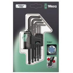 Zestaw kluczy imbusowych 9 szt. 967 PKL/9 SB SiS TORX Wera 05073598001 z kategorii Zestawy narzędzi ręcznych