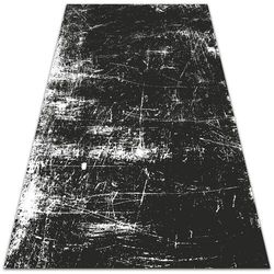 Piękny dywan zewnętrzny piękny dywan zewnętrzny czarny porysowany beton marki Dywanomat.pl