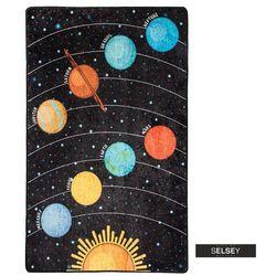 SELSEY Dywan do pokoju dziecięcego Dinkley Galaxy 140x190 cm (5903025555270)
