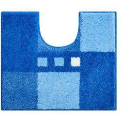 dywanik łazienkowy merkur, niebieski, 50x60cm marki Grund