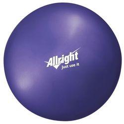 Piłka gimnastyczna OVER BALL 18 cm Allright (fioletowa) (piłka, skakanka)