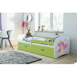 Łóżko dla dziecka, barierka, babydreams, wróżka z motylkami, zielone marki Kocotkids