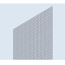 Osłona ścianki tylnej, wersja z kratą spawaną, do regału o wys. x szer. 2000x100