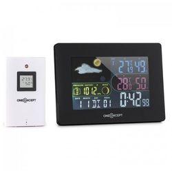 uddevalla stacja pogodowa sterowana radiowo baterie alarm czujnik zewnętrzny marki Oneconcept