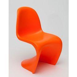 Krzesło Balance Junior pomarańczowy - pomarańczowy