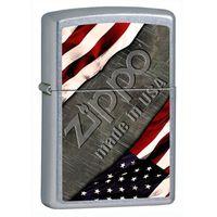 Zapalniczka ZIPPO Made In USA, Street Chrome (Z25445) - produkt z kategorii- Zapalniczki