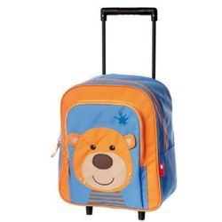 sigikid Mini Torba na kółkach Miś (walizeczka dziecięca)