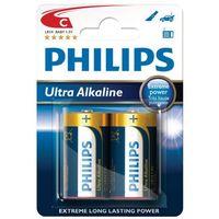 Panasonic 24 x bateria alkaliczna philips ultra alkaline lr14/c