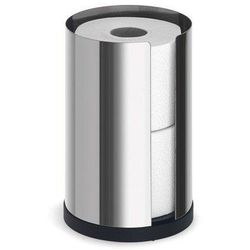 Stojak na papier toaletowy nexio stal polerowana 2 rolki marki Blomus
