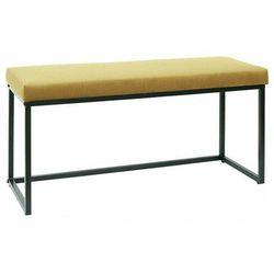 Welwetowa ławka żółta - midra marki Producent: elior