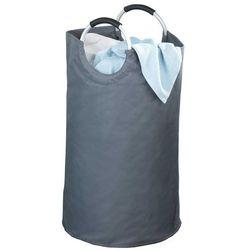 Szary kosz na pranie JUMBO - 69 litrów, WENKO