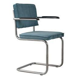 fotel ridge rib niebieski 12a 1006056 marki Zuiver