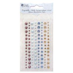 Kryształki i perły samoprzylepne  grkp-001/120szt. - 3 kolory wyprodukowany przez Dalprint