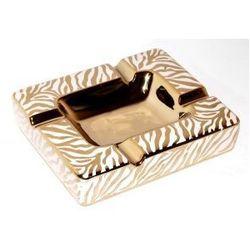Popielnica cygarowa na 4 cygara gold/white - produkt z kategorii- Popielniczki