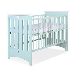Łóżeczko dla niemowląt, lorenzo iii / miętowe, 60x120 cm, dostawa gratis! marki My sweet baby