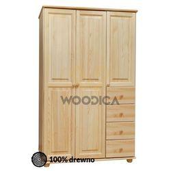 Woodica 08.szafa 3d4s 133x190x60