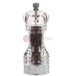 Młynek do pieprzu akryl Proffesional h 150 mm 40540