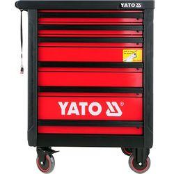 Szafka serwisowa 6 szuflad, blat antypoślizgowy / yt-0902 / - zyskaj rabat 30 zł marki Yato