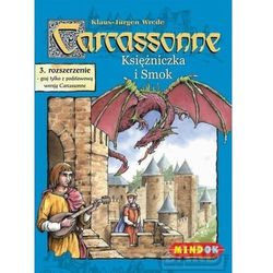Carcassonne: Księżniczka i Smok (edycja polska), towar z kategorii: Gry planszowe