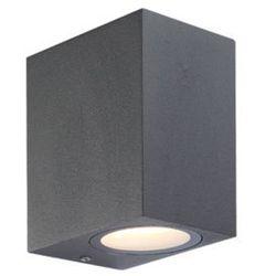 Zewnętrzna lampa ścienna skathi 34264-1  aluminiowa oprawa elewacyjna led ip54 outdoor prostokątna ciemnoszary, marki Globo