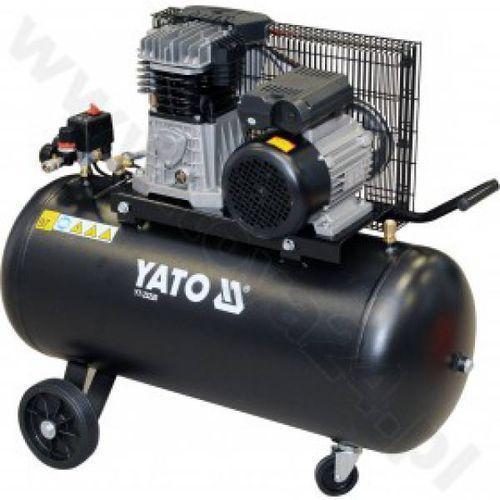 Kompresor olejowy 230V/100L/2.2kW/10bar/350l/min. /YT-23220/ - produkt z kategorii- Pozostałe narzędzia elektryczne
