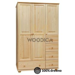 09.szafa 3d5s 133x190x60 marki Woodica