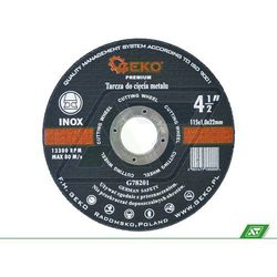 Tarcza do metalu Geko 115x1.0x22 G78201