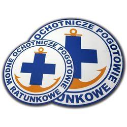 Naklejka magnetyczna WOPR 19cm - produkt dostępny w Sklep Ratownik24.pl