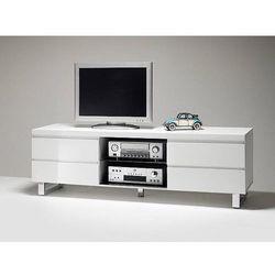 Szafka telewizyjna lakierowana biała BOS 167/42/63 cm