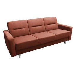 """Sofa """"TORINO"""" rozkładana - pomarańczowy, kolor pomarańczowy"""