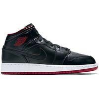 Buty Nike Air Jordan 1 Mid (BG) (554725-028) - 554725-028 z kategorii Pozostałe obuwie dziecięce