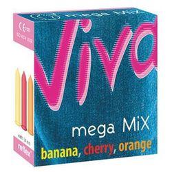 Prezerwatywy zapachowe Viva Mega Mix 3 szt. - produkt z kategorii- Prezerwatywy