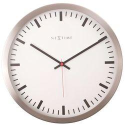 2520 stripe white zegar ścienny marki Nextime