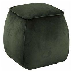 Elior Zielona pufa welurowa siedzisko - arktos 4x