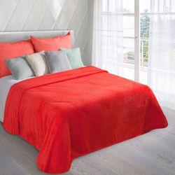 Eurofirany Koc narzuta ricky 220x240 czerwony