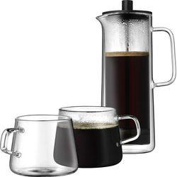 Kawiarka tłokowa French Press z filiżankami WMF z kategorii Zaparzacze i kawiarki
