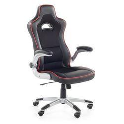Krzesło biurowe czarne - obrotowe - siatka - dla graczy - master marki Beliani