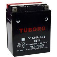 Akumulator Tuborg YTX14AH-BS 12.6Ah 210A AGM YB14-A2/B2