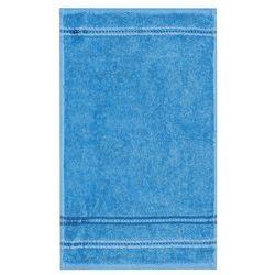 Euromat ręcznik nicola niebieski, 50 x 90 cm od producenta 4home