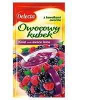 Kisiel DELECTA owocowy kubek 30g - owoce leśne