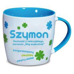 Nekupto, Szymon, kubek ceramiczny imienny, 330 ml
