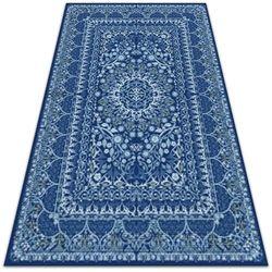 Dywanomat.pl Piękny dywan zewnętrzny piękny dywan zewnętrzny niebieski antyczny styl