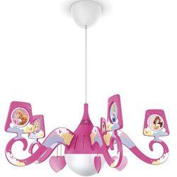 Philips 71757/28/16 - żyrandol dziecięcy disney princess 1xe27/15w/230v