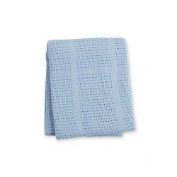 Kocyk bawełniany tkany blue 5o40kw marki Lulujo