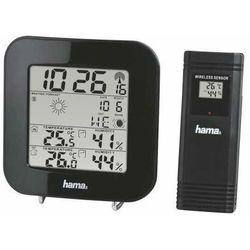 Hama Stacja pogody czarna (ews-200) darmowy odbiór w 19 miastach! (4047443289933)