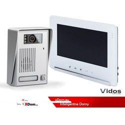 Zestaw Wideodomofonu Vidos stacja bramowa z szyfratorem monitor 7'' S35_M690WS2