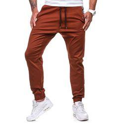 Spodnie męskie ATHLETIC 0449-1 bordowe - BORDOWY