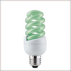 Świetlówka spiralna 15W E27 zielona, produkt marki Paulmann