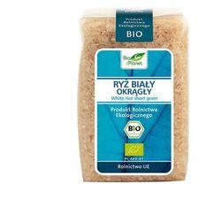 : ryż biały okrągły bio - 500 g wyprodukowany przez Bio planet