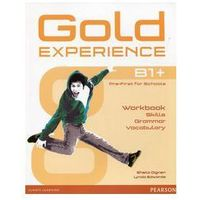 Gold Experience Language And Skills Workbook B1+ (9781292159485)